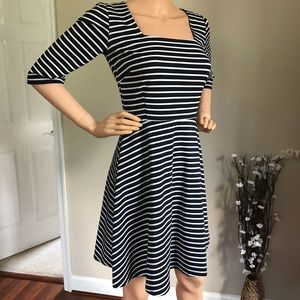 Sugarhill Boutique Striped Mini Dress Size 6